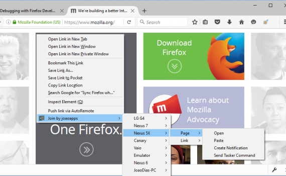 Join Add-on for Firefox